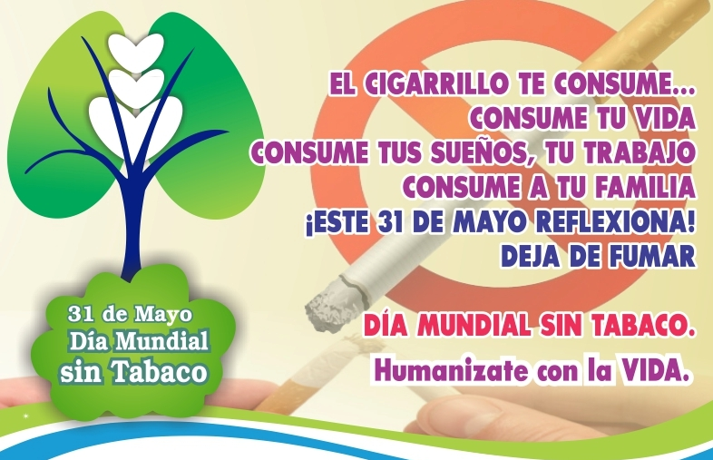 31 mayo dia mundial sin tabaco farmacia carretera de mata - 3 meses sin fumar ...